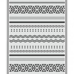 Килим Riva Geometrik WHITE